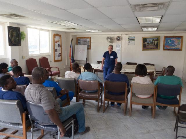 Educating Haitian Doctors